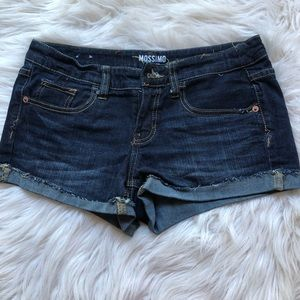 Mossimo Supply dark wash shorts